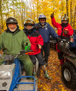Mille Lacs Lake area Fall ATVing