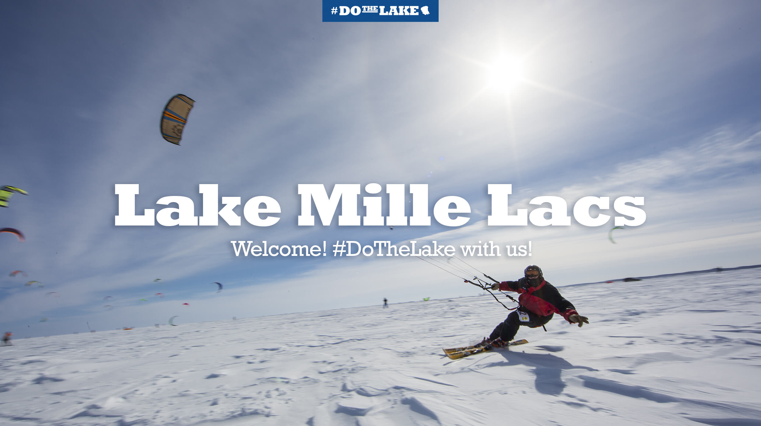 Lake Mille Lacs welcome