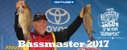 Bassmaster fishing tournament weigh-in