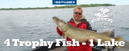 Mille Lacs Muskie fishing
