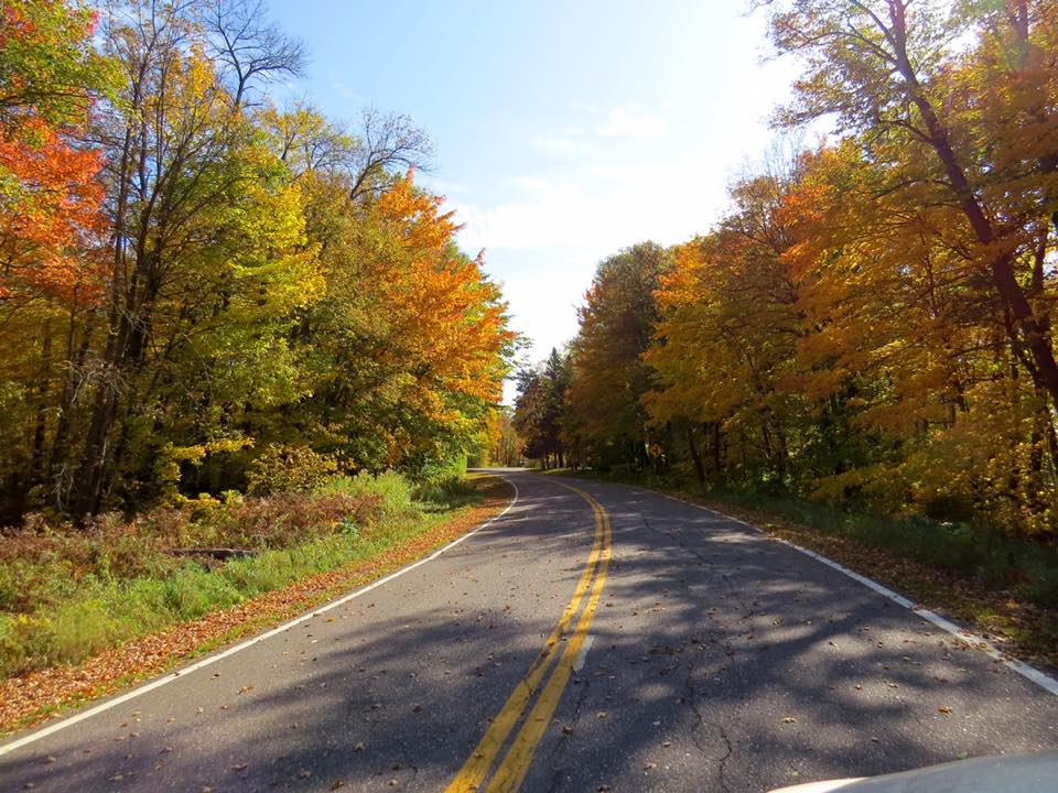 Fall Color drive along the Byway